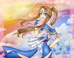 Goddess 1st class Belldandy