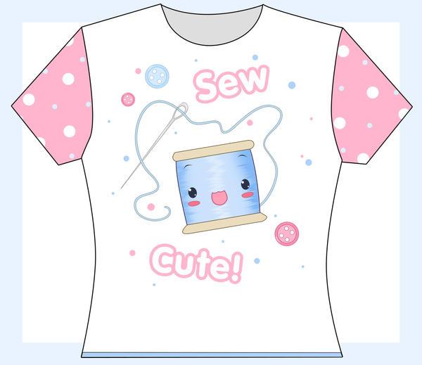Sew Cute T Shirt by princessmoony