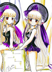 Cho Twins by princessmoony
