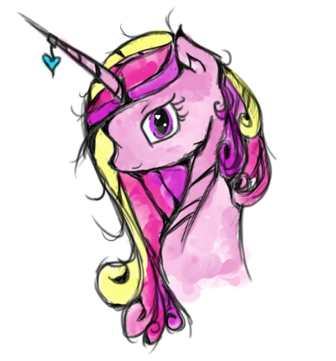 Princess Cadence by PaintingStrides