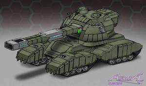 Heavy Railgun Tank