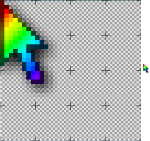 Rainbow Mouse Cursor - #GolfClub