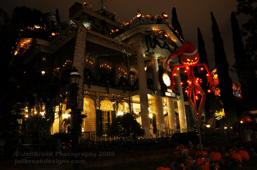 Nightmare Before Christmas Haunted Mansion - Disneyland 2009