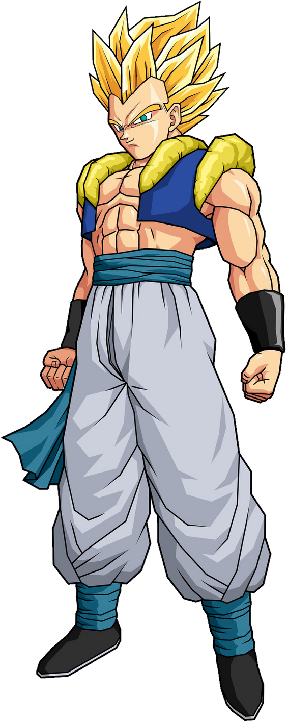Adult Gotenks SSJ by