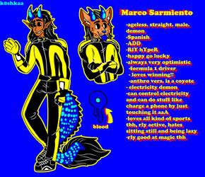 .Marco. by k0shkaa