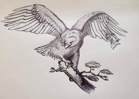 Inked Eagle
