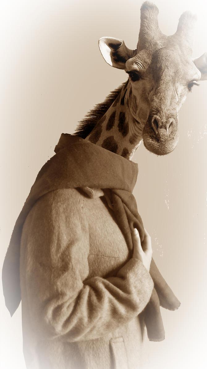 Mme girafe by Legendawen
