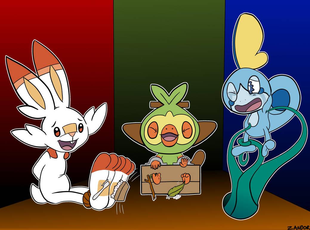 Doin them new starter pokemons a tickle by zand0r