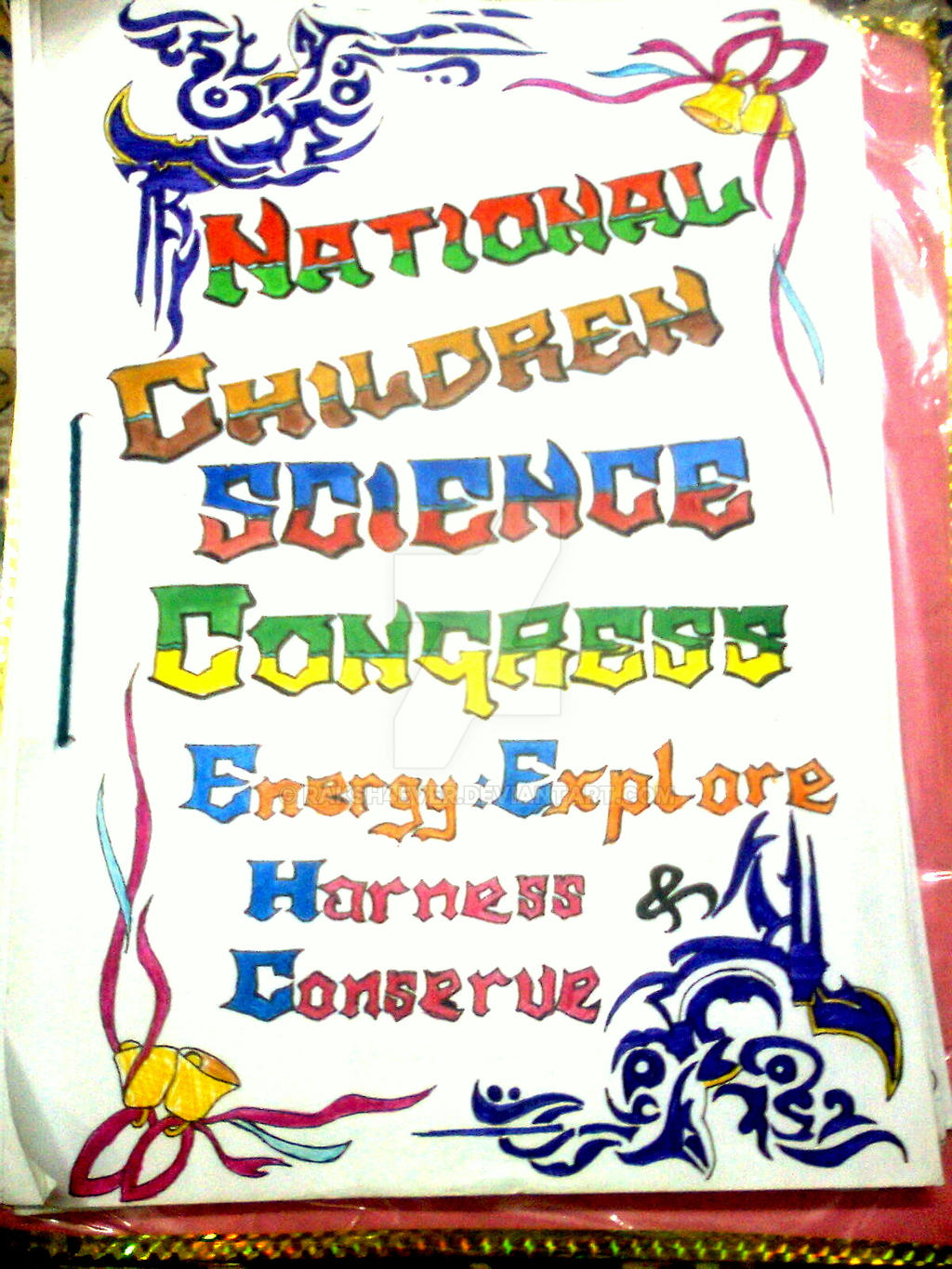 a science project cover page by rakshever on a science project cover page by raksh4ever