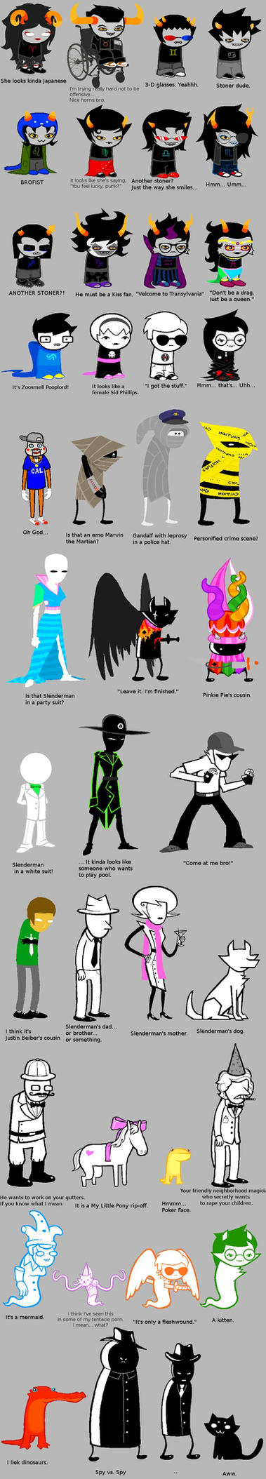 Homestuck according to PedroIV by jg-is-me