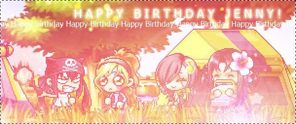 Happy Birthday Jenny! by Cyleni