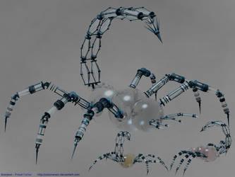 Scorpion - Proud Father by calamarain