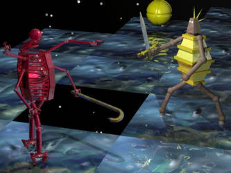 DROD - Beethro vs 39th Slayer by calamarain