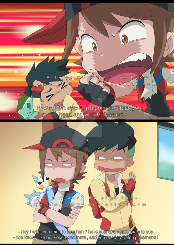 Pokemon X And Y Oc Hoshi And Kiba By Pink Hudy On Deviantart