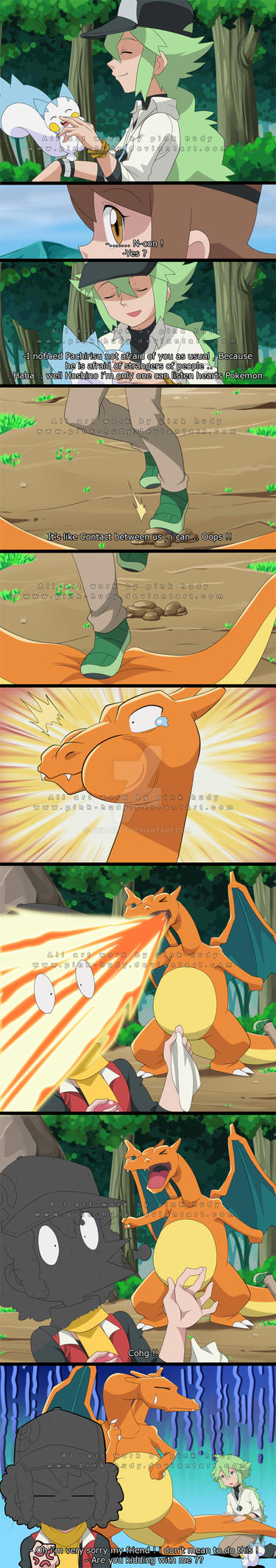 Apology for Charizard by pink-hudy