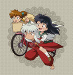 let's go inuyasha by pink-hudy