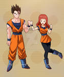 commission : Kyonic and Gohan