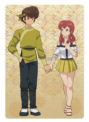 commission : Ryoga Hibiki and Soffie