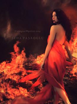 mistress of flames