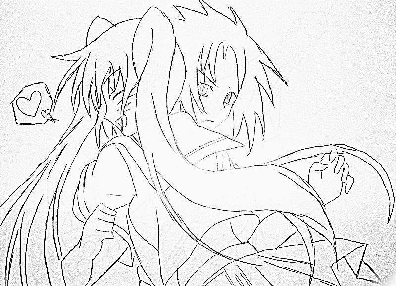 Naruko i Sasuke by NarukoO92KisS