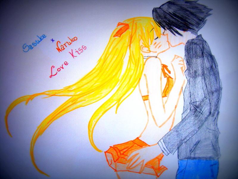 Sasuke i Naruko Love Kiss by NarukoO92KisS