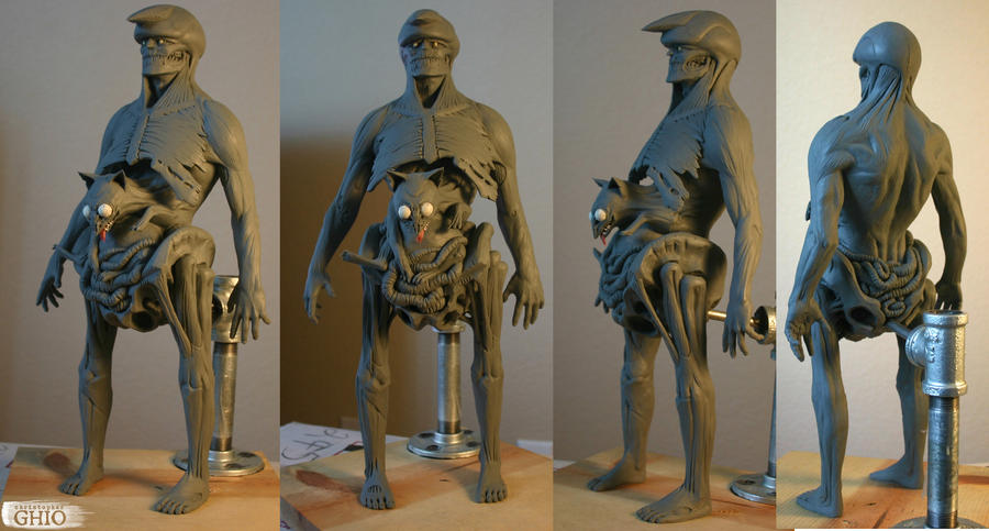 Vagabond Maquette Sculpt by piajartist