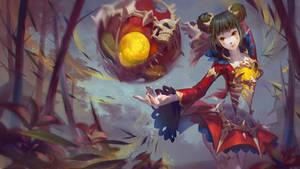 LOL Fans Art : Eastern Risen - Orianna