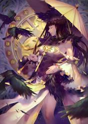 Shadow Ravens by JoFang-Art