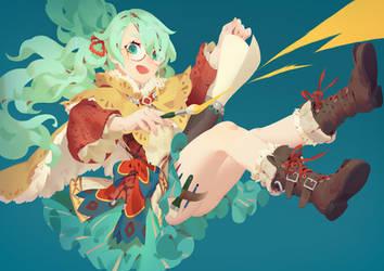 Splat! by JoFang-Art