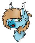 double heart the grypho-pony(?)