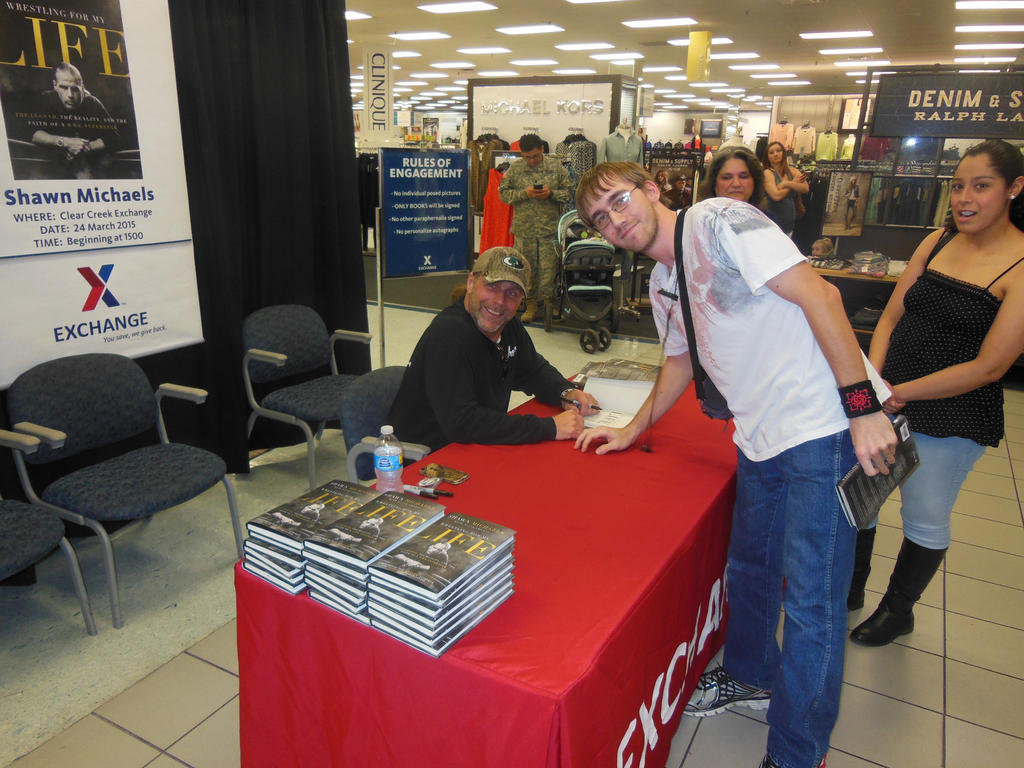 Meeting shawn michaels by whitefoxkitsune88 on deviantart meeting shawn michaels by whitefoxkitsune88 m4hsunfo