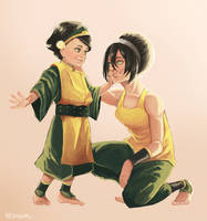 Lin and Toph