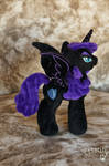Adult Nyx with Nightmare Moon wings