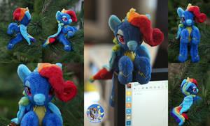 Rainbow Dash aka Rainbow Fash by Essorille