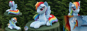 Big (almost lifesize ^_^) Dashie