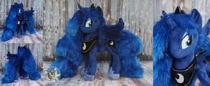 Princess Luna with sparkle fur
