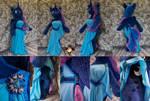 Lifesize anthro Princess Luna plushie