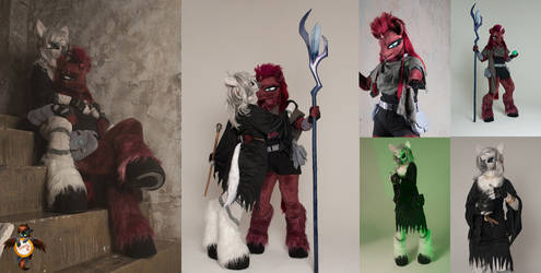 Tempest Shadow and NightmareNight Zecora cosplay