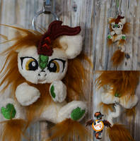 Autumn Blaze kirin trinket by Essorille