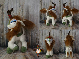 Autumn Blaze angry kirin by Essorille