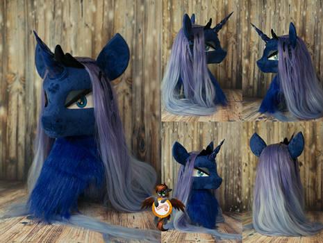Princess Luna fursuit head