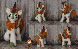 Autumn Blaze kirin plushie FOR SALE by Essorille