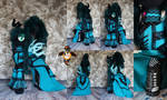Gothic Metal Chrysalis plushie by Essorille