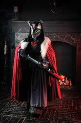 Emperor Sombra cosplay fursuit