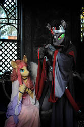 Emperor and his empress