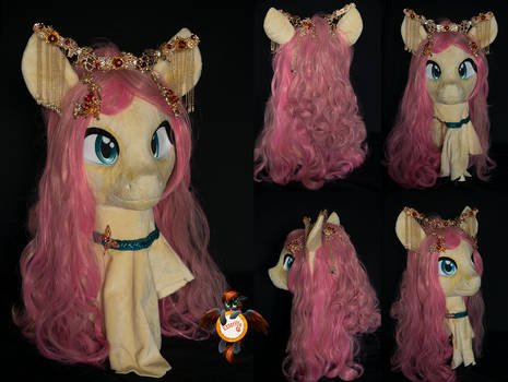 Fluttershy fursuit head