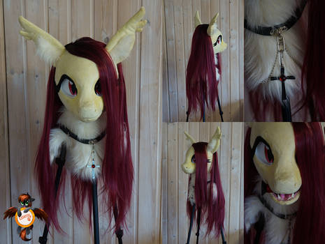 Flutterbat fursuit head