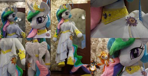 Princess Celestia anthro lifesize plushie