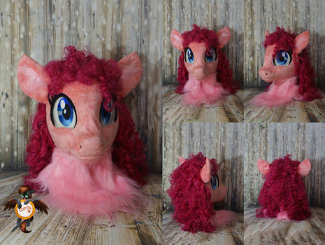 PinkiePie fursuit head