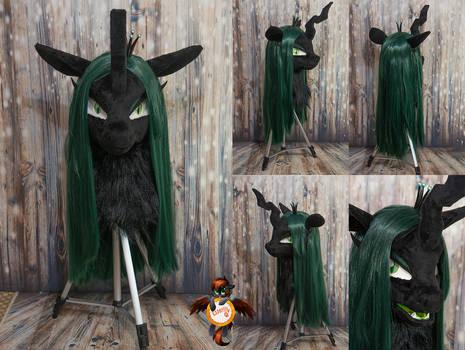 Queen Chrysalis fursuit head ver 2